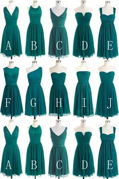680ea7bfe3 13 Delightful knee length bridesmaid dresses images