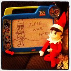 Elfie was here!