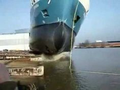 How ships are launched - Very cool / via @David King