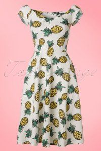 Vintage Chic Marcella Pineapple Dress 102 59 22070 20170425 0001W