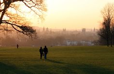 If you go for a walk through South Park, you'll get this view.   43 Reasons Living In Oxford Ruins You For Life