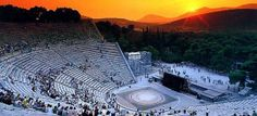 5 Days Best of Greece Tour Package and enjoy visiting the great attractions of Greece. Visit to Athens, Delphi, Epidaurus and Mycenae. Cool Places To Visit, Places To Go, Greece Tours, Greece Trip, Greece Travel, Ancient Greek Theatre, Mycenae, Ancient Greek Architecture, Amazing Architecture