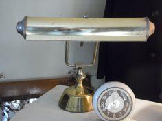 vintage DESK LAMP  it works by OldSteamerTrunkJunk on Etsy, $25.00