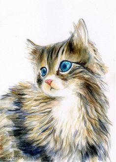He encontrado este interesante anuncio de Etsy en https://www.etsy.com/es/listing/170300825/cat-art-print-a-furry-kitten-cat