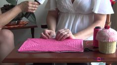 TUDO DE BOM 23 e 24/10/14 Como fazer forro de carteira de crochet