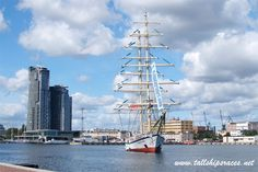 tallshipsraces.net - Fryderyk Chopin zacumował w Gdyni