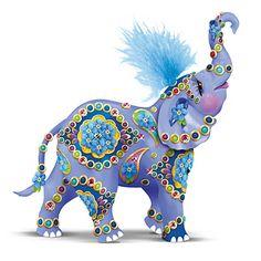 The Hamilton Collection Elephant Figurine: Uplifting Support Alzheimer's Figurine Elephant Walk, Elephant Parade, Elephant Love, Elephant Quotes, Elephant Stuff, Colorful Elephant, Alzheimer Tattoo, Elefante Hindu, Elephants Never Forget