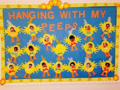 Spring Bulletin Boards | Pre-K Ideas, crafts etc | Pinterest