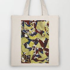 Gel Print 1 Tote Bag by Rachel Winkelman - $18.00