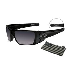 24e14f8057 Oakley Military   Government Sales Oakley Standard Issue Fuel Cell™ - Matte  Black - Grey - OO9096-38