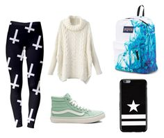 Untitled #11 by silverstars101 on Polyvore featuring Vans, JanSport and Givenchy