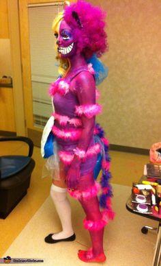 My Cheshire side. Cheshire Cat - Homemade costumes for women
