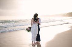 Relaxed Australian Beach Wedding   Photo by Bird & Boy Photography www.birdandboyphotography.com.au