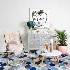 Tomorrow's the last day of our⚡️WAREHOUSE SALE ⚡️ Come by and nab a deal, there are still heaps of great rugs (and lots lots more) and prices will be even further reduced 🤑🤑🕺 . We will be open from - @ 41 - 43 Clifton Street, Prahran. Beautiful Interiors, Decoration, Home Interior Design, Accent Chairs, Furniture, Color, Warehouse, Moroccan Rugs, Home Decor