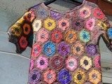 Russian crochet tunic