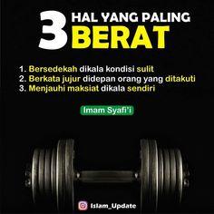 """Rumahbuku_islami di Instagram """"Inilah tiga amal yang paling berat menurut Imam Syafii . 1.Murah hati ketika miskin . Sekdekah merupakan amalan baik yg dapat mengantarkan…"""""""