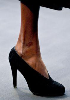 Hermes - shoe - catwalks - fall 2012 - inspiration - shape -