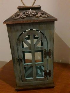 This Candle Lanterns are unbelievable at making your home a alluring place. Lanterns Decor, Hanging Lanterns, Candle Lanterns, Moroccan Lanterns, How To Make Lanterns, Painted Trays, How To Make Box, Best Candles, Handmade Home Decor