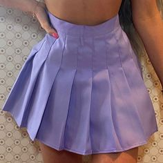 Cute Skirts, Tight Skirts, Mini Skirts, Tennis Skirts, Purple Outfits, Pleated Mini Skirt, Cute Casual Outfits, Skirt Outfits, Vintage Twins