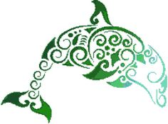 Diving Dolphin Cross Stitch Pattern Instant by StitchXCrossStitch