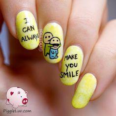 Nail Art | http://www.trendfolder.com/ ✿
