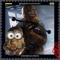 Star Wars Chewbacca Minion