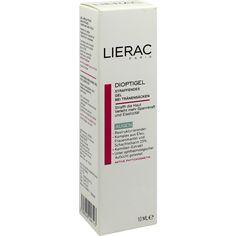 LIERAC Dioptigel Creme Milderung v.Traenensäcken:   Packungsinhalt: 10 ml Creme PZN: 00192637 Hersteller: Ales Groupe Cosmetic…