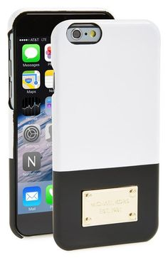 MICHAEL Michael Kors Two-Tone Snap-On iPhone 6 Case available at #Nordstrom