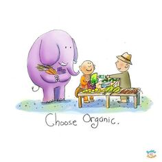 Buddha Doodles - Choose organic.