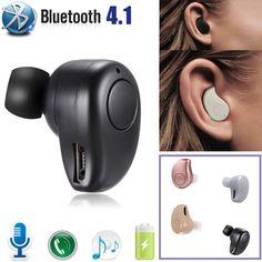 Mini auricular bluetooth auricular manos libres smartphone samsung iphone 6  7 8