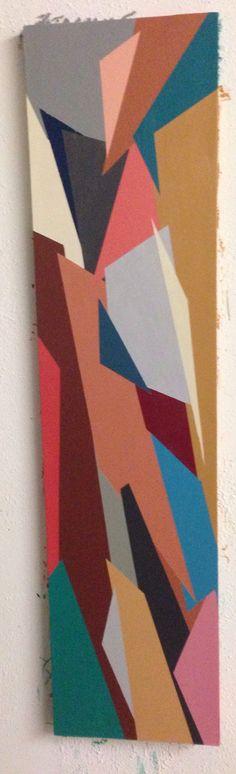 Natural, 2013. Acrylic on masonite. Lindsey Walczyk.