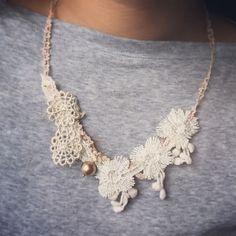 #lace #vintage #antique #handmade#handmadeaccessories #handicraft #香港手作 #棉棉珠 #手作 #手作市集 #diy #花嫁 #lacetrim #zakka #文青 #簡約 by jt_corner
