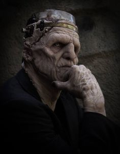 steampunk frankenstein by Richard Redlefsen Gothic Horror, Arte Horror, Horror Art, Horror Movies, Cult Movies, Steampunk, Makeup Fx, Prosthetic Makeup, Horror Fiction