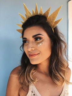 Most current Pictures Ideas for carnival costumes. Popular Ideas for carnival costumes. Bff Halloween Costumes, Carnival Costumes, Diy Costumes, Costumes For Women, Halloween Makeup, Halloween 2017, Halloween Ideas, Pinterest Halloween, Sun And Moon Costume
