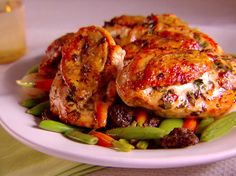 Herbed Chicken with Spring Vegetables recipe from Giada De Laurentiis via Food Network