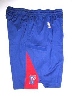 Nike Detroit Pistons Practice Shorts Mens L Royal Blue Red 826218365508  84d5ab24d