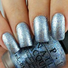 OPI Shine For Me (over OPI My Silk Tie)