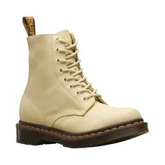 30aafb629ea Women s Dr. Martens Pascal 8-Eye Zip Boot - Pastel Yellow Virginia Leather  Boots