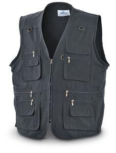 Amazon.com : Concealment Vest Black, 2XL : Gun Holsters : Sports & Outdoors
