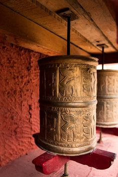 Prayer Wheels - Ladakh, India