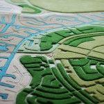 Florian Pucher Turns Aerial Photos into Plush Carpeting