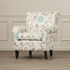Found it at Wayfair - Wadham Flowered Upholstered Club Chair