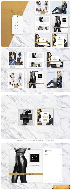 Fashion Social Banner Pack Free Download | Free Graphic Templates, Fonts, Logos & Icons, PSD, AI