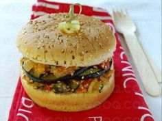Vegetarian Burger #vegetarian #burger #qooq