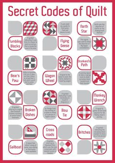 the underground railroad quilt code patterns | ... in canada it was a secret…
