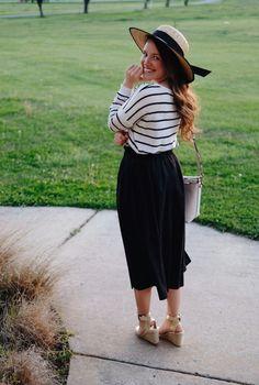 b30ac49420 Courtney Toliver – A Beauty and Fashion Blog Apostolic Fashion, Apostolic  Style, Skirt Outfits