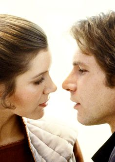 Carrie Fisher and Harrison Ford in Star Wars: Episode V - The Empire Strikes Back (1980)