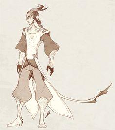 ArtStation - Demons and Other Ilk: Nobles, Hunter Bonyun
