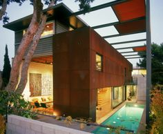 Rust Never Sleeps: Applying Weathering Steel To Residential Projects - Explore, Collect and Source architecture