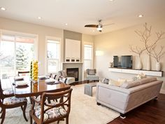 Awesome Living Room Dining Room Combo